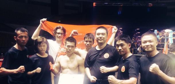 二十一届自由搏击锦标赛收获两冠军-深圳宝安体育馆